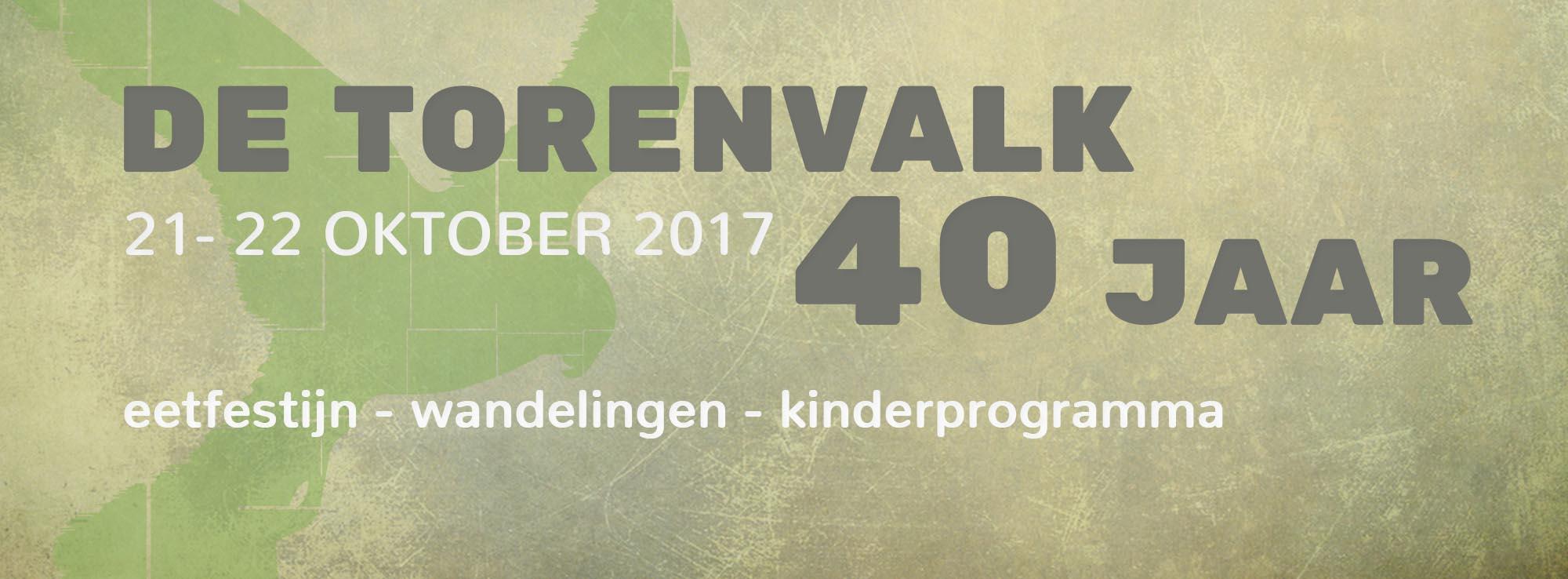 Fototerugblik eetfestijn 40 jaar Torenvalk